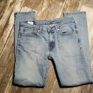 Levi light blue jeans